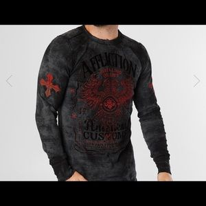 Men's Affliction Reversible Long Sleeve